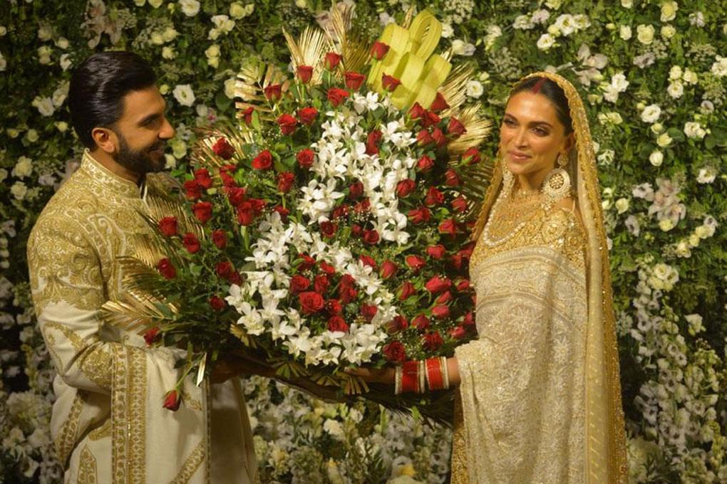Deepika & ranveer Mumbai Reception