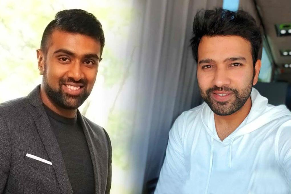 R Ashwin & Rohit Sharma