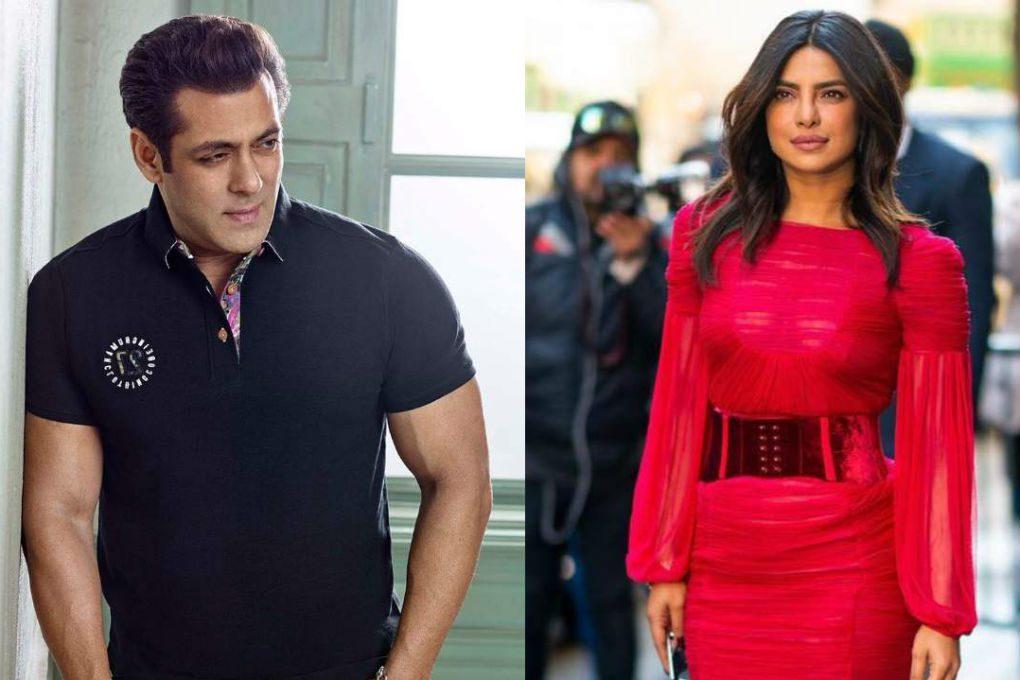 Salman Khan & Priyanka Chopra Jonas
