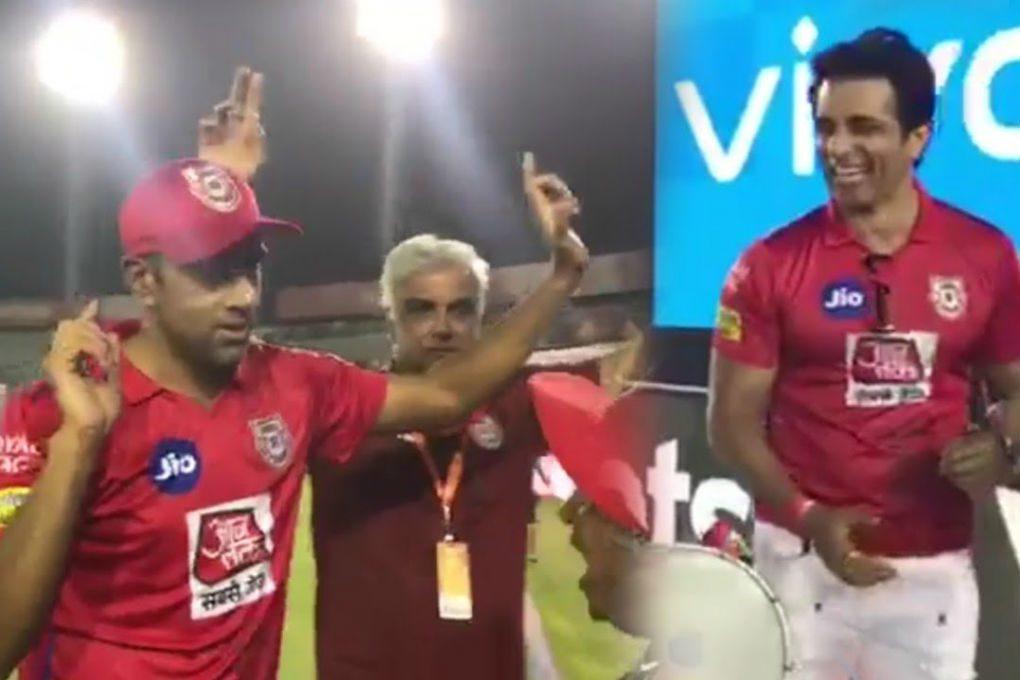 R Ashwin & Sonu Sood