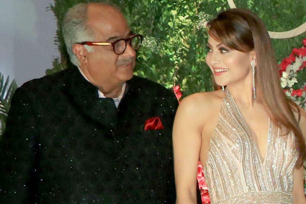 Boney Kapoor & Urvashi Rautela
