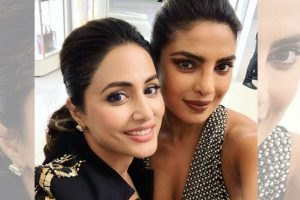 Priyanka Chopra & Hina Khan