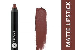 SUGAR Matte As Hell Crayon Lipstick - 16 Claire Underwood With Free Sharpener