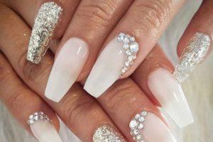 Jewel Encrusted Nail Art