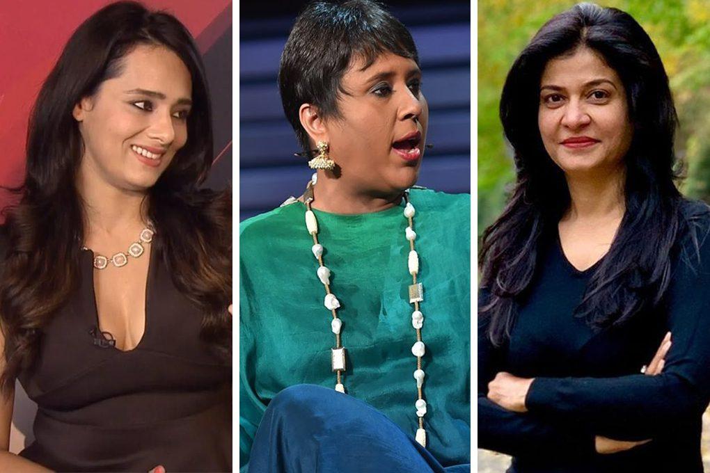 Mayanti Langer Binny, Barkha Dutt, Anjana Om Kashyap