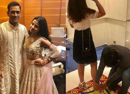 Ms Dhoni Trolls Sakshi Dhoni