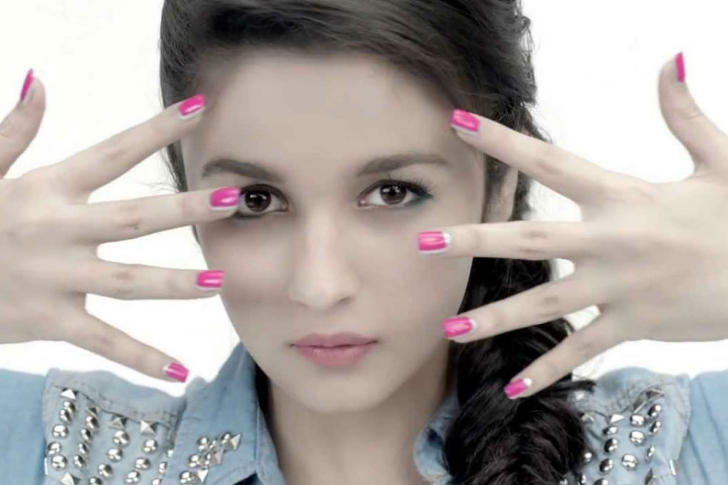 Alia Bhatt Nail Paint