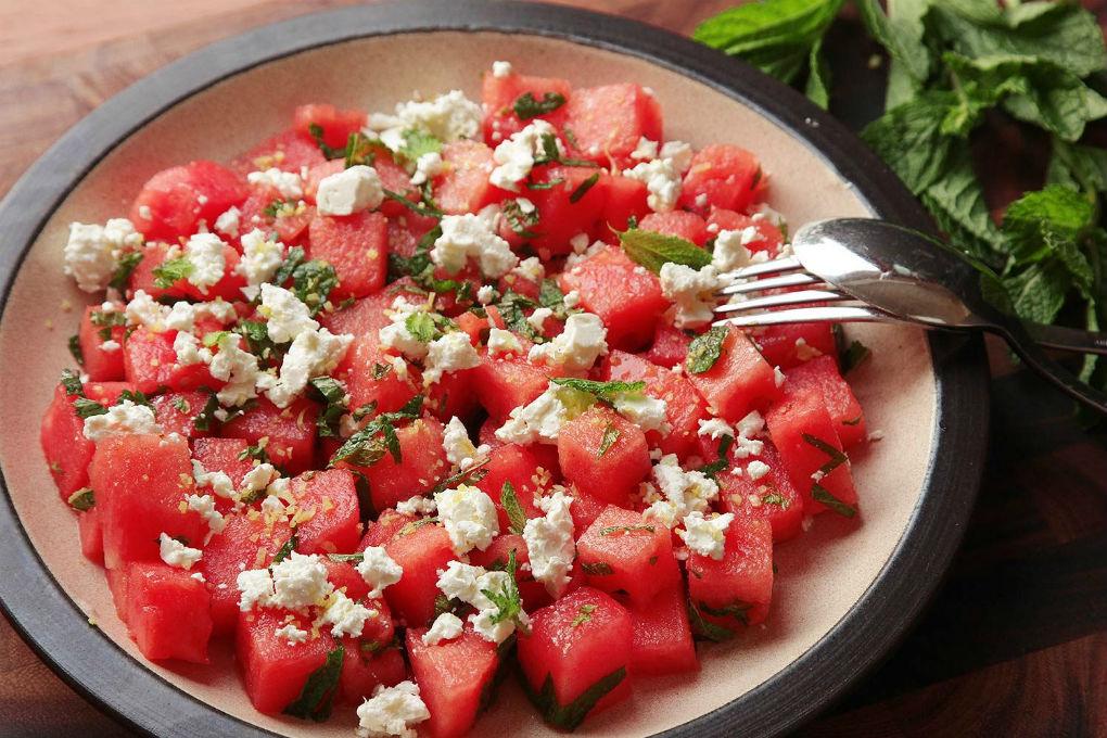Watermelon Mint Salad