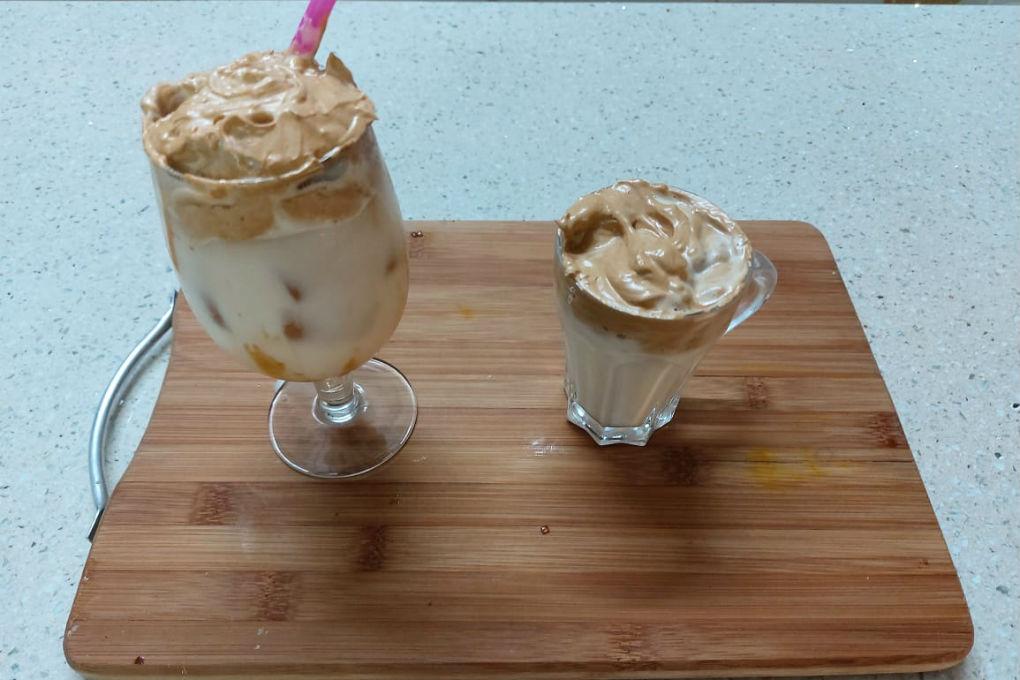Hot & Cold Dalgona Coffee