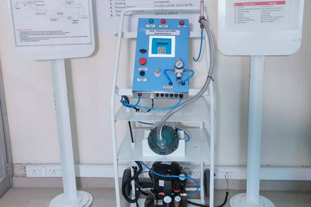 Low Cost Ventilator Jeevan