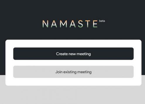 'Namaste'