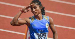Hima Das-Women Athlete