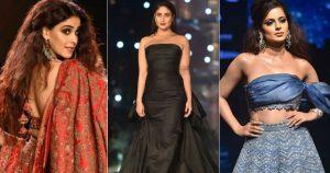 Bollywood Celebrities wearing Saree Skirt