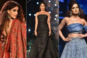Hot Bollywood Celebrities wearing Saree Skirt