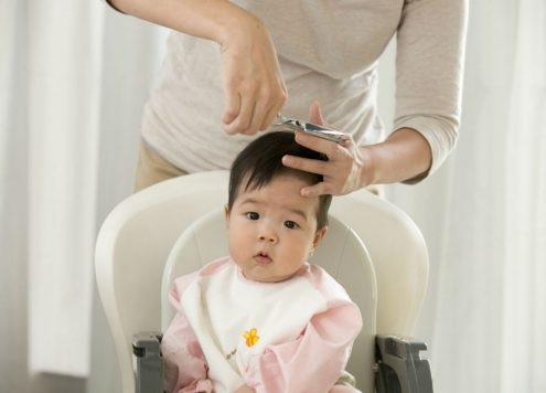 Tips to take care of baby's Hair